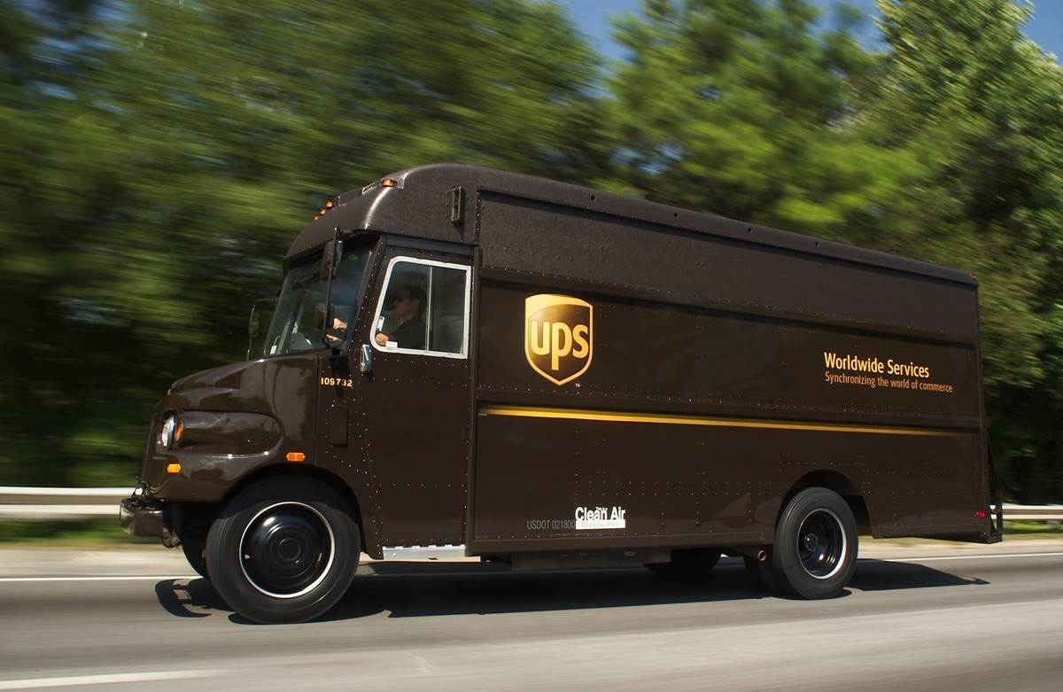 Our shipping partner, UPS.